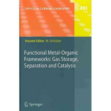 Functional Metal Organic Frameworks  Gas Storage  Separation And Catalysis