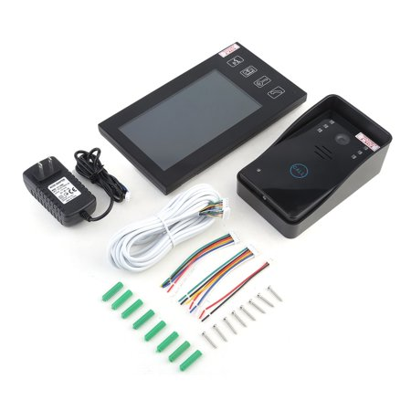 7Inch Touch Lcd Wireless Video Home Door Phone Doorbell Intercom System