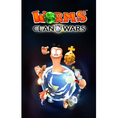 Worms Clan Wars (PC)(Digital Download)