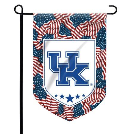 Kentucky Wildcats Patriotic Garden Flag - No Size