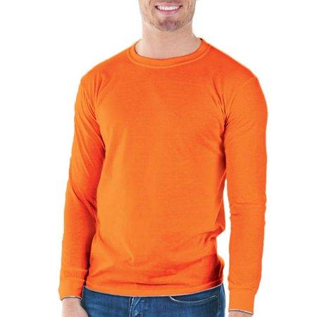 Gildan big mens classic long sleeve t shirt for Big tall mens long sleeve t shirts