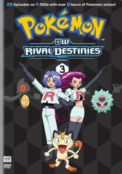 Pokemon Black & White Rival Destinies: Set 3 (DVD) by Viz Media, LLC.