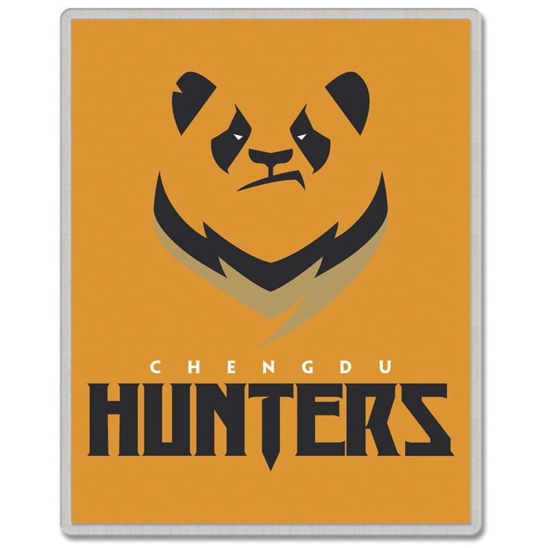 Chengdu Hunters WinCraft Rectangle Pin - No Size