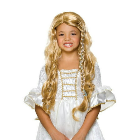 Glamorous Princess Wig - Blonde - Children's Costume Accessory](Blonde Halloween Ideas)