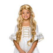 Glamorous Princess Wig - Blonde - Childrens Costume Accessory
