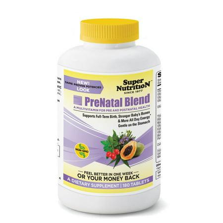 PreNatal Blend Super Nutrition 180 Tabs