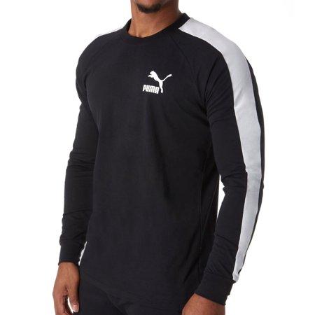 f2fa8705 Men's Puma 576925 Classic T7 Long Sleeve Logo T-Shirt