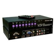 Smart-AVI SAVI-V2V-MAX-S 6-Port HDMI Switcher Scaler & Converter