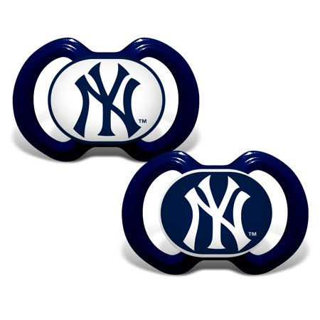 MLB New York Yankees 2-Pack Pacifiers