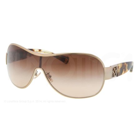 4ff7930359df1 Coach - Coach Women s Reagan HC7005B HC 7005 B 9018 13 Gold Tortoise Shield  Sunglasses - Walmart.com