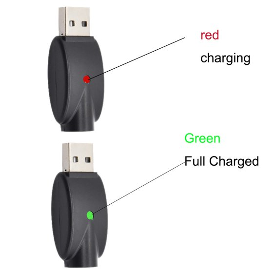 Outtop 2pcs USB Charger Cables Compatible for 510 Thread USB Ego Charger