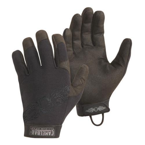 Camelbak Heat Grip Lightweight Form Fitting Tactical Work Gloves - HGLG05 -Black