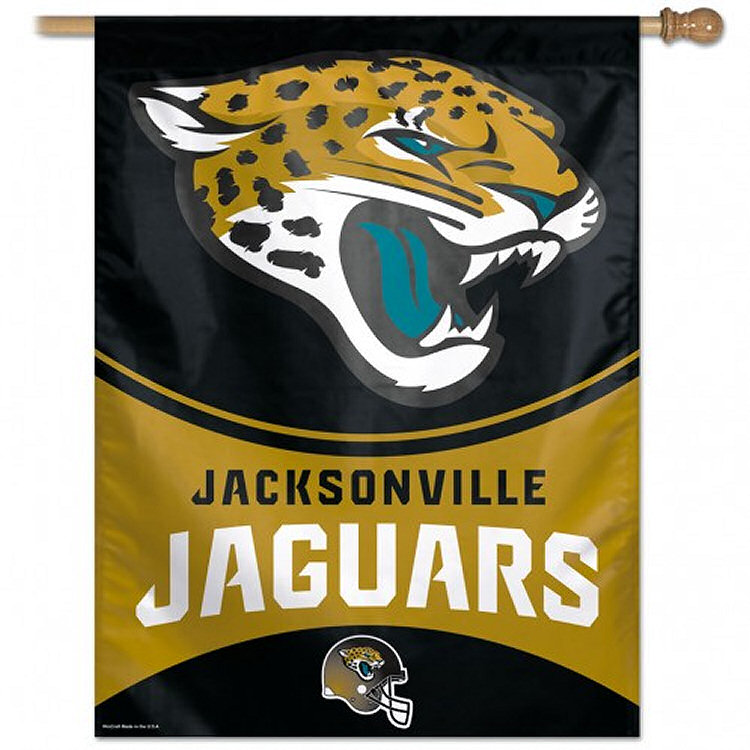 Jacksonville Jaguars Decorative House Flag