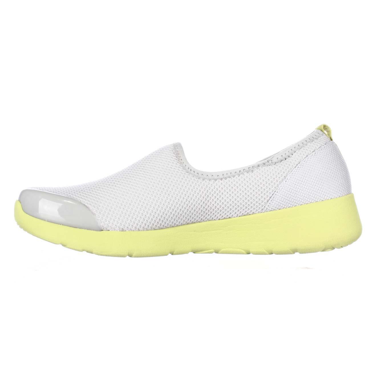 Womens Easy - Spirit Funrunner Sport Flats - Easy Light Gray Yellow bd94bb