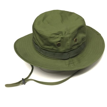 36d56822984 Men  s Boonie Bucket Hat Wide Brim Outdoor Camping Fishing Cap Army Green