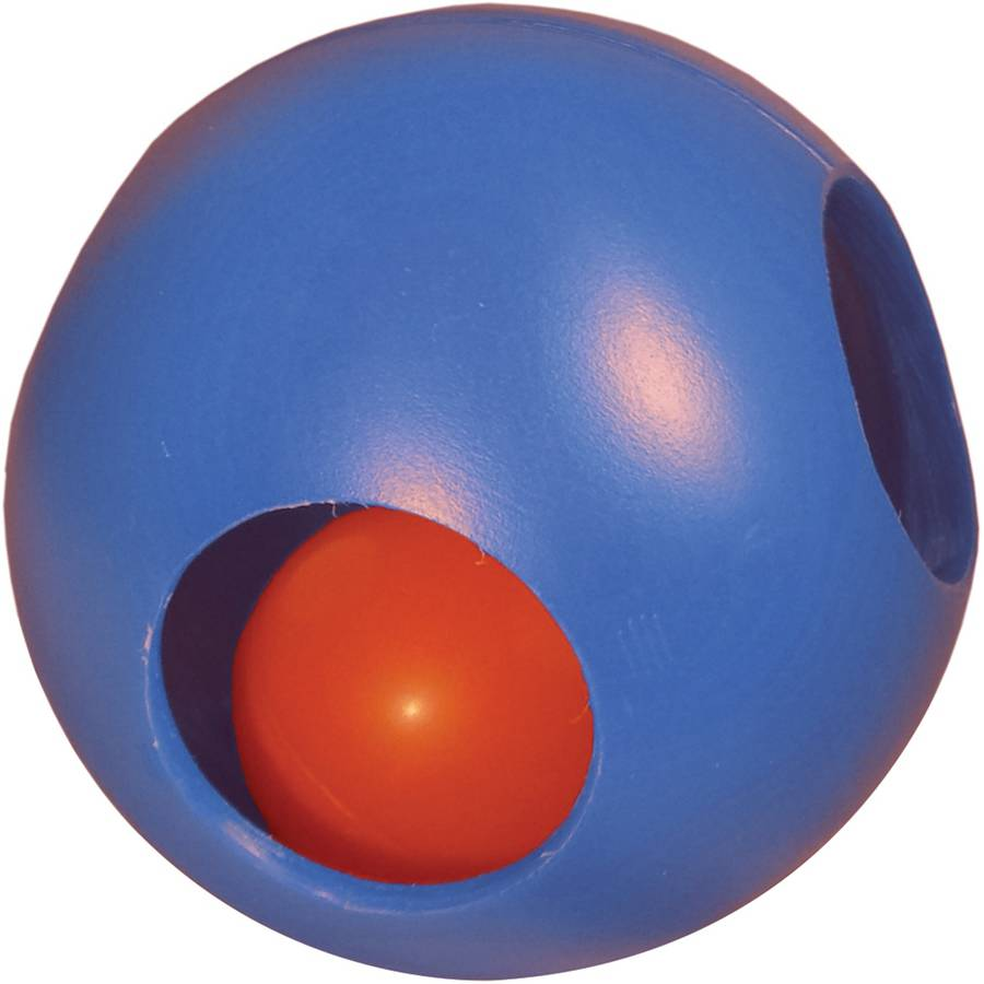 """Paw-zzle Ball, 4.5"""", Blue"""