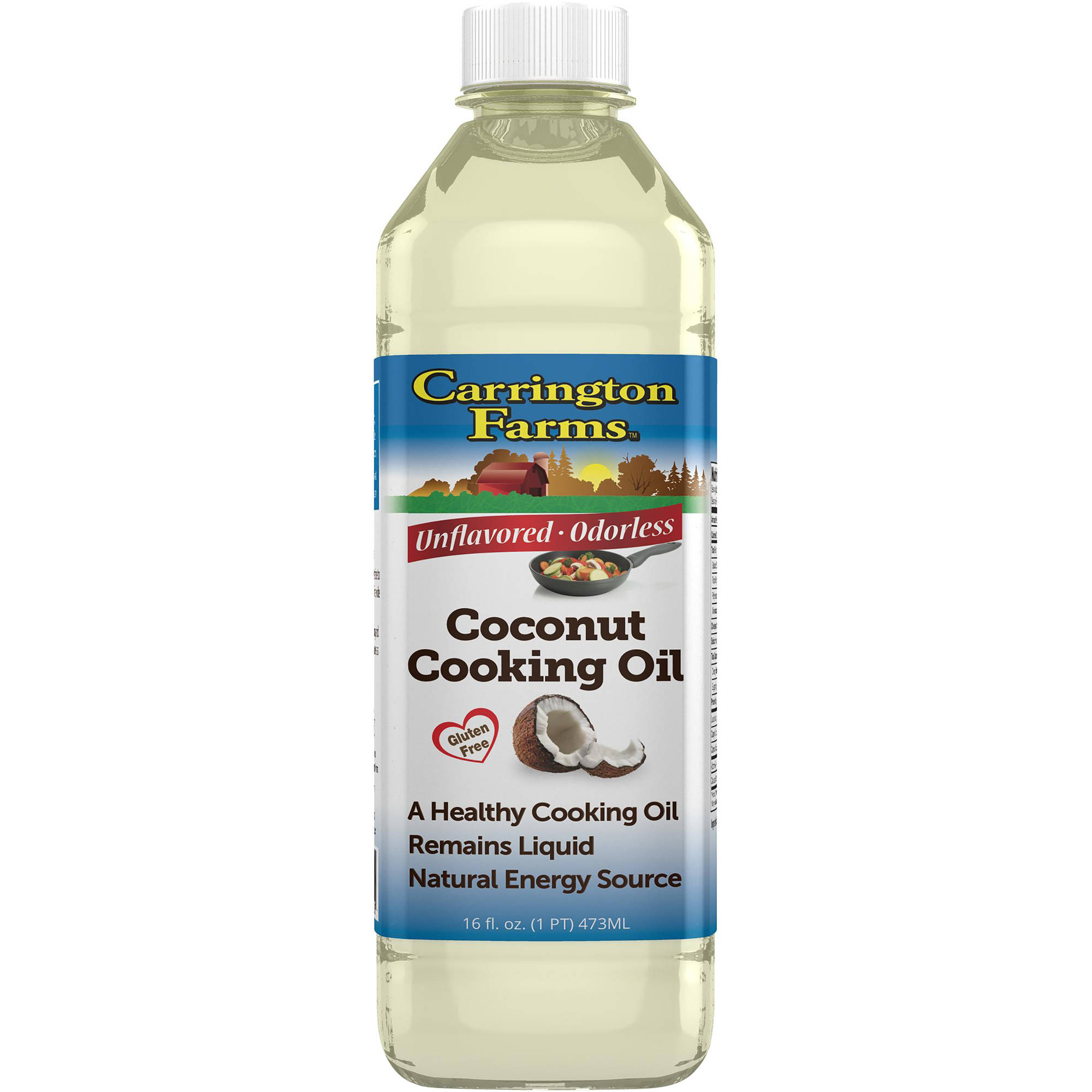 Carrington Farms Liquid Coconut Cooking Oil, 16 fl oz