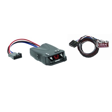 (2017 - 2018 Ford, F-250, 350 , 450  Super Duty, All Styles Electronic Brake Control, for 1 to 4 Axle Trailers, Timed Actuated)