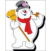 Frosty Body Funky Chunky Magnet, Christmas Decor by NMR Calendars