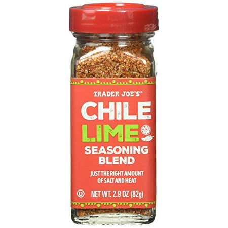 Trader Joe's Chile Lime Seasoning Blend, 2.9 oz (Trader Jobs)