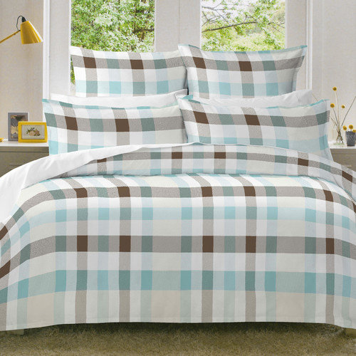 Pointehaven Monet Flannel Duvet Set