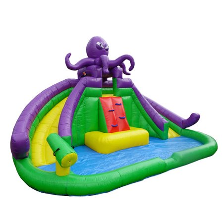 JumpOrange Jump N' Slide Wet Dry Combo Bounce