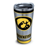 NCAA Iowa Hawkeyes Tradition 20 oz Stainless Steel Tumbler with lid
