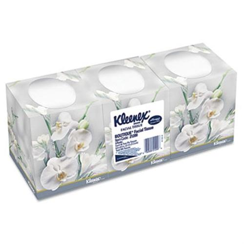 Kimberly-Clark Facial Tissue, 2-Ply, Pop-Up Box, 3 Boxes/Pack, 12 Packs/Carton KCC 21200