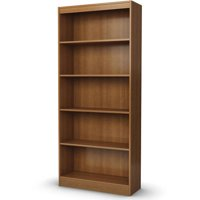 "South Shore Smart Basics 68"" 5-Shelf Bookcase, Multiple Finishes"