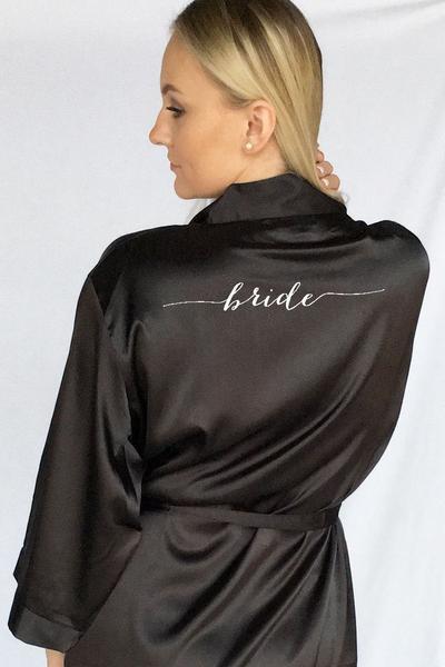 Bride Robe - Flowy Design