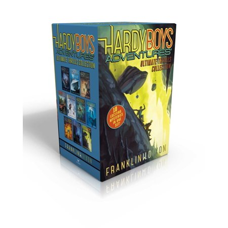 Hardy Boys Adventures Ultimate Thrills Collection : Secret of the Red Arrow; Mystery of the Phantom Heist; The Vanishing Game; Into Thin Air; Peril at Granite Peak; The Battle of Bayport; Shadows at Predator Reef; Deception on the Set; The Curse of the Ancient Emerald; Tunnel of (Best Of Francoise Hardy)