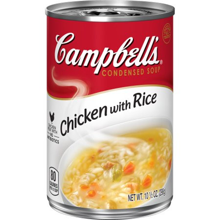 Campbell's Condensed Chicken with Rice Soup, 10.5 oz.