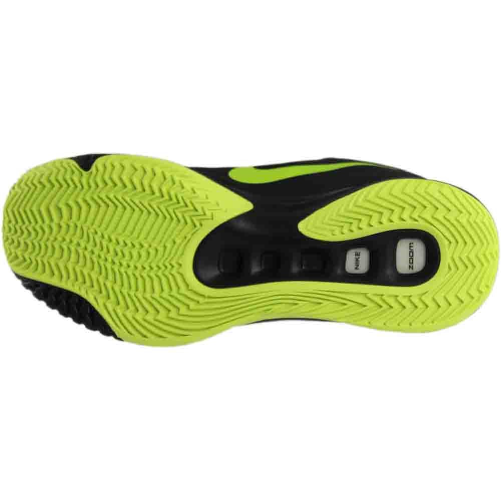 Nike Zoom Hyperquickness 2015 Men Basketball Shoes New Grey Black Volt