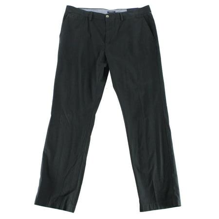 Mens Casual Country Club - Club Room NEW Deep Black Mens Size 30x30 Khakis Flat-Front Pants