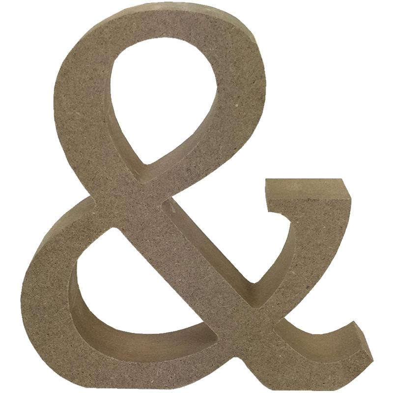 Smooth Mdf Blank Shape-& Symbol