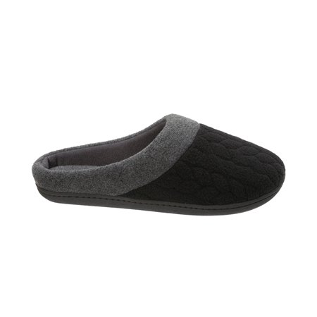 4354f37be24 Check Inventory. DF by Dearfoams Women s Quilted Fleece Clog Slipper
