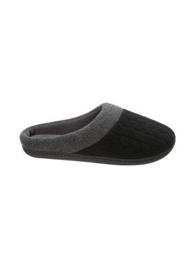 728b2fb0a33ab Product Image DF by Dearfoams Women s Quilted Fleece Clog Slipper