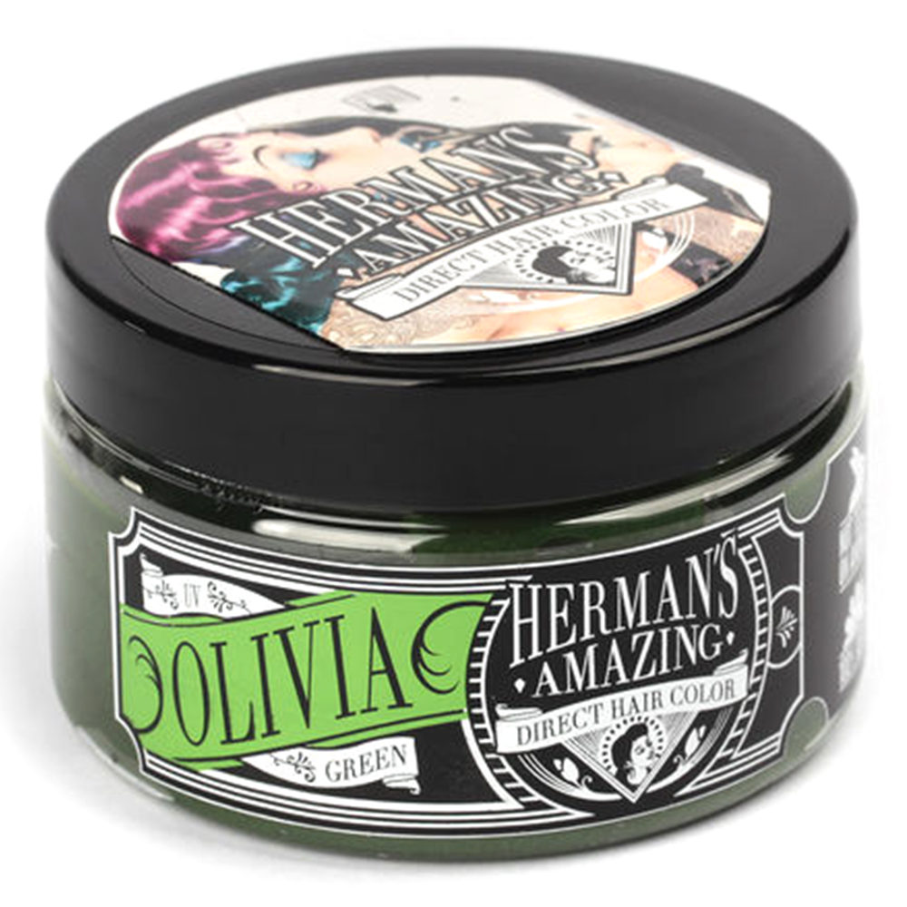Herman's Amazing Vegan Semi-Permanent Direct Hair Color Dye (4oz)