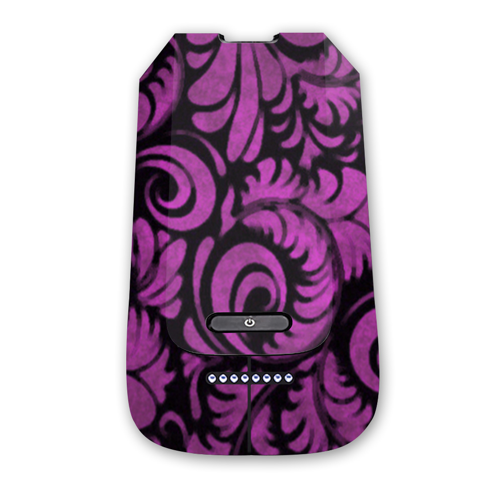 MightySkins Protective Vinyl Skin Decal for 3DR Solo Battery wrap cover sticker skins Antique Purple