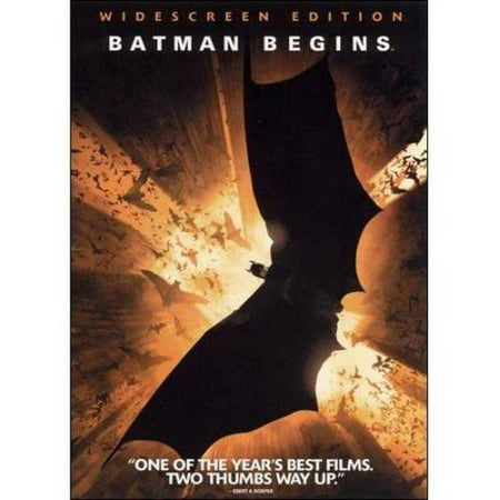 BATMAN BEGINS (DVD/WS-2.40/ENG-FR-SP SUB)