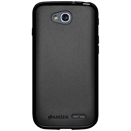cheaper eb2a6 56ee3 LG Optimus L90 Case Charger Combo, Premium Slim Fit ShockProof Matte TPU  Case Back Cover with Micro USB Car Vehicle Home Wall Travel Charger for LG  ...