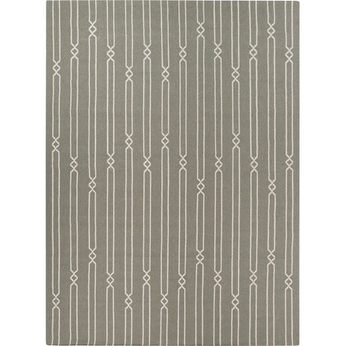 Surya Frontier Iron Ore Striped Area Rug