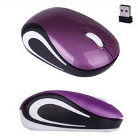 New Fashion Cute Mini 2.4 GHz Wireless Optical Mouse Mice For PC Laptop Notebook Blue