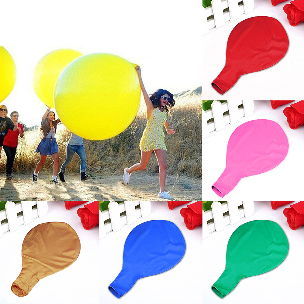 HiCoup 36 inch Large Latex Balloons Party Supplies Decor for Birthday Wedding Festival