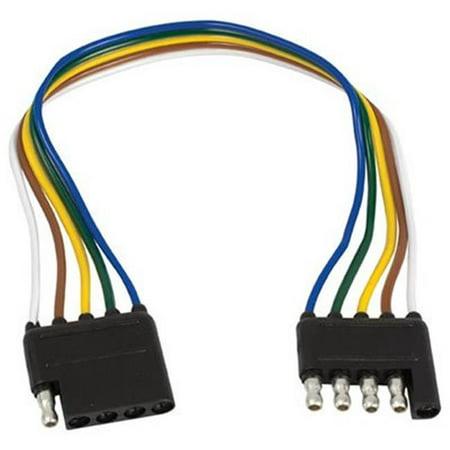UE500005 5 Way Flat Trailer Wire Extension Loop