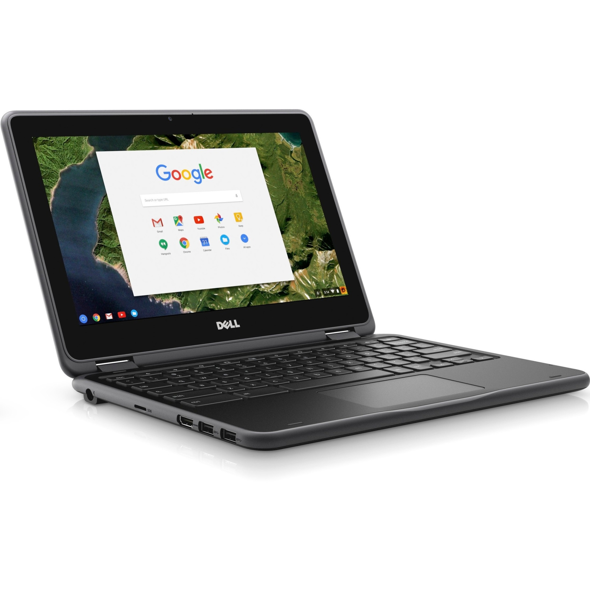 "Dell Chromebook 3180 11.6"" LCD Chromebook - Intel Celeron N3060 (Refurbished)"