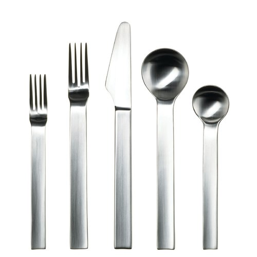 Gourmet Settings Pure Continental 20 Piece 18/10 Stainless Steel Flatware Set, Service for 4
