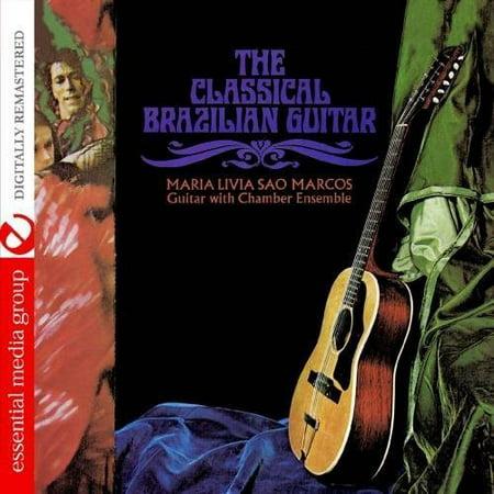 Livia  Maria Sao Marcos   The Classical Brazilian Guitar  Cd
