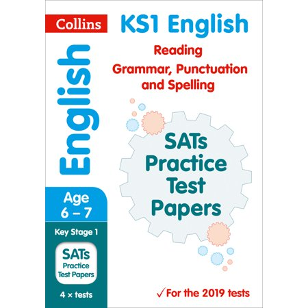 Halloween Spelling Test Paper (Collins KS1 Revision and Practice – KS1 English Reading, Grammar, Punctuation and Spelling SATs Practice Test Papers :)
