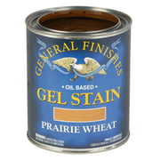 General Finishes, Oil Based Gel Stain, Prairie Wheat, Quart
